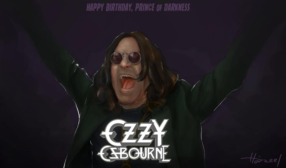 Happy Birthday Ozzy