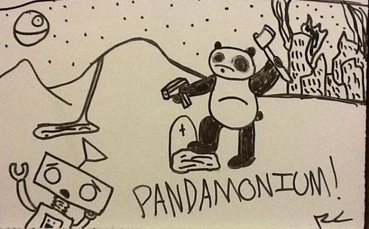 Pandamonium!