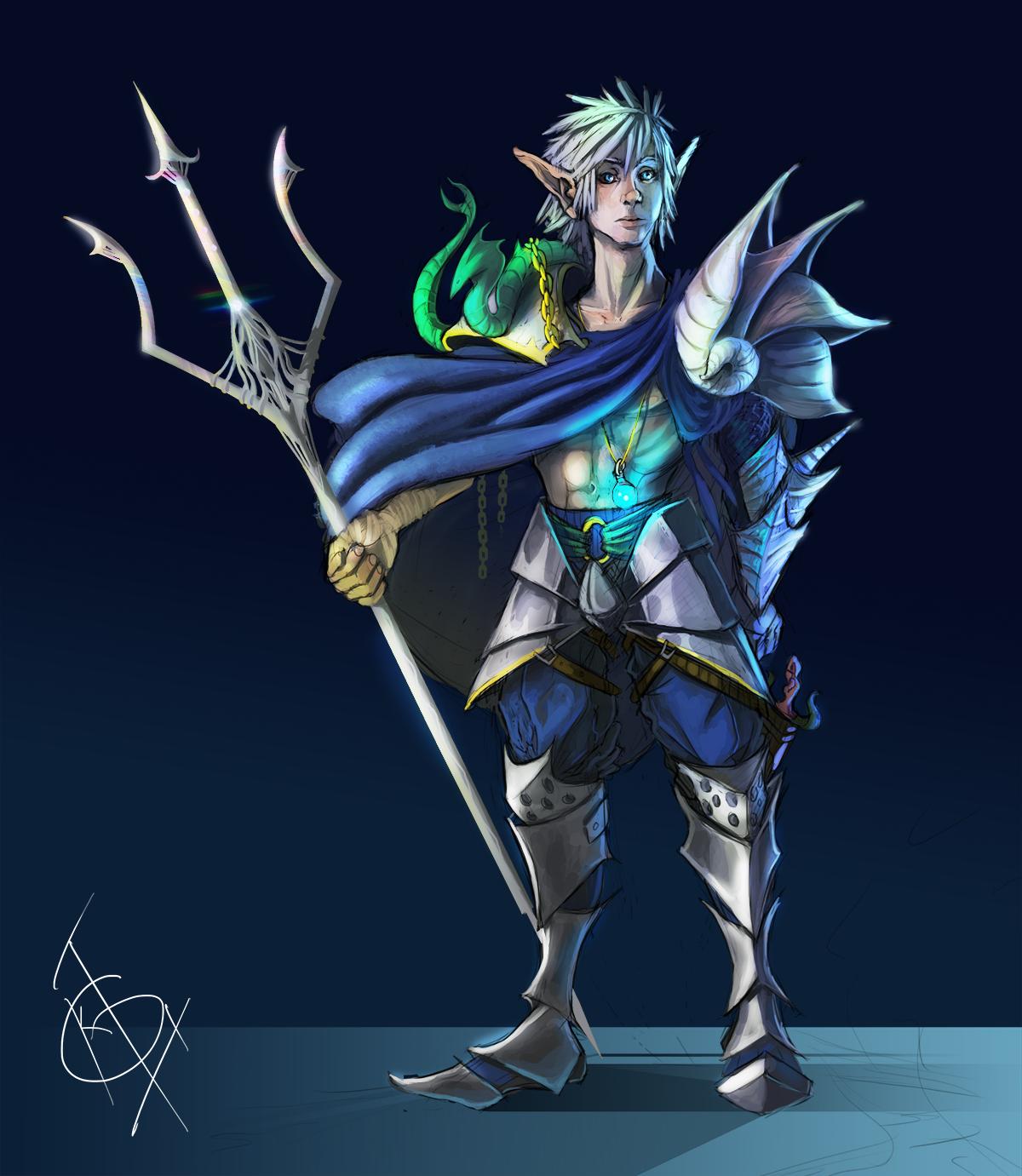 Malakai - Dungeons and Dragons