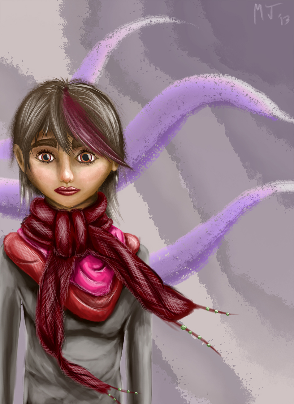 The Scarf Girl