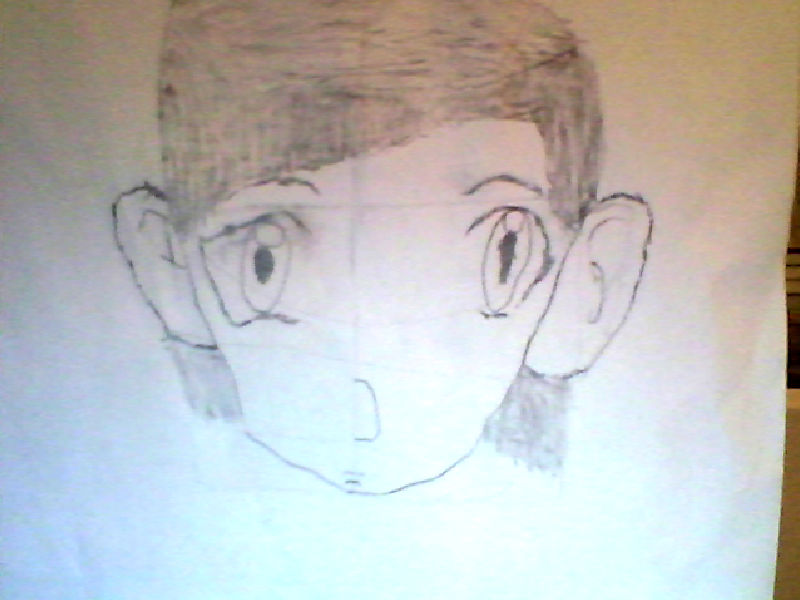 My First Attempt At Anime