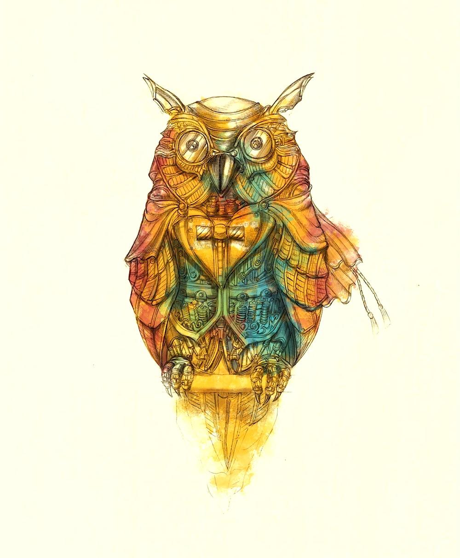 Dapper Owl (Swanky Strigidae)