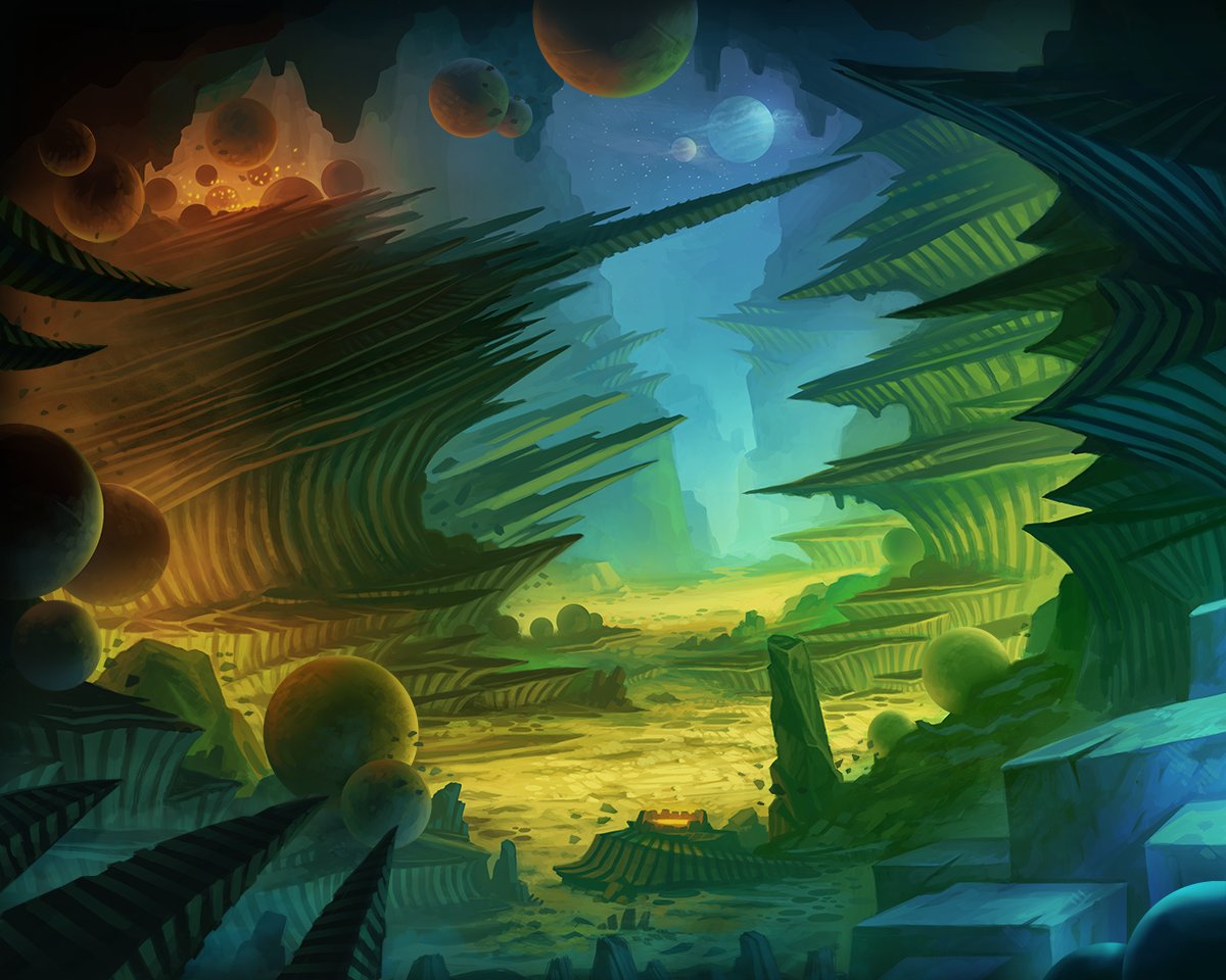 Alien Landscape Commision