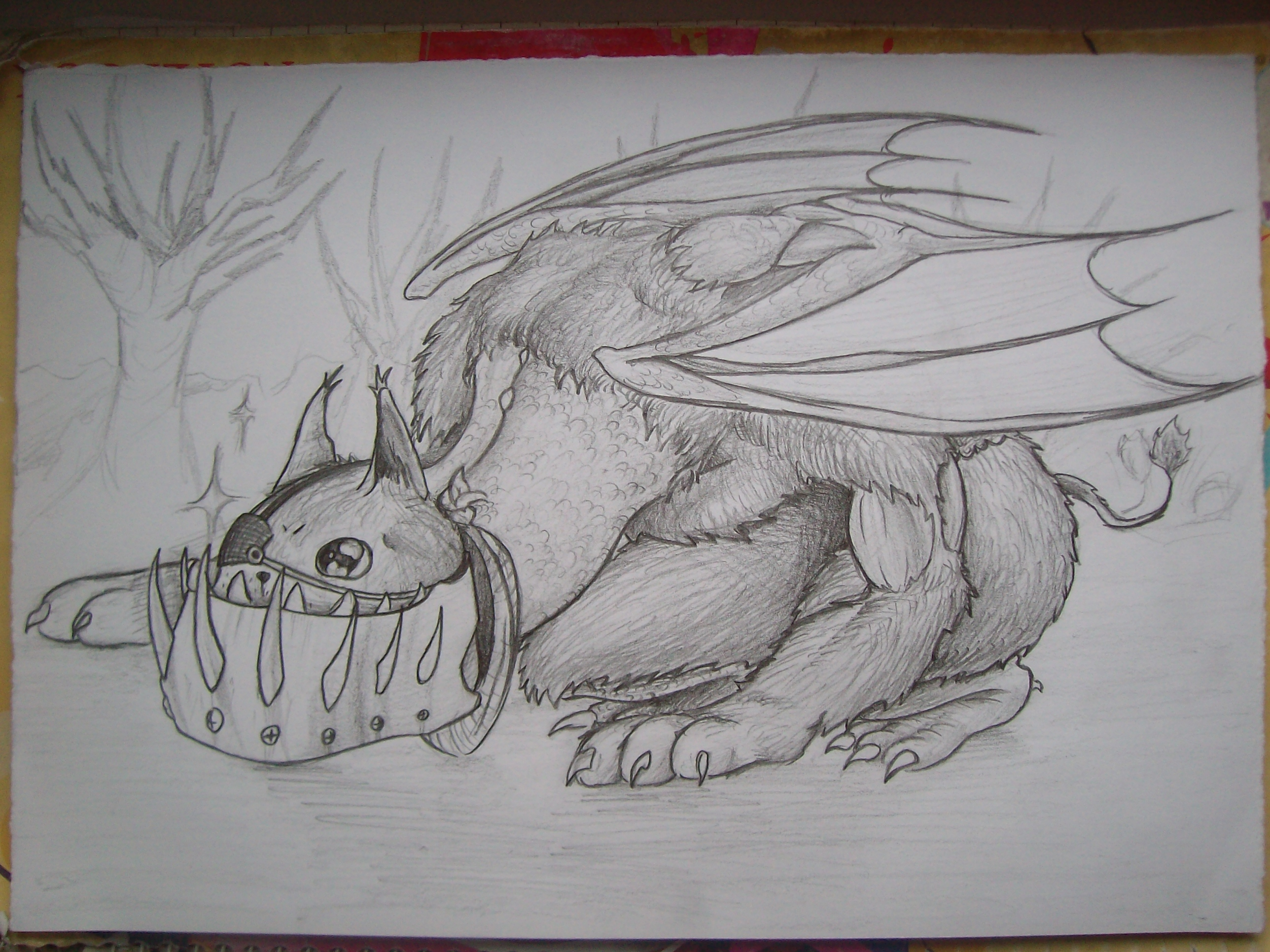 Sketch - Gryphon Thingy