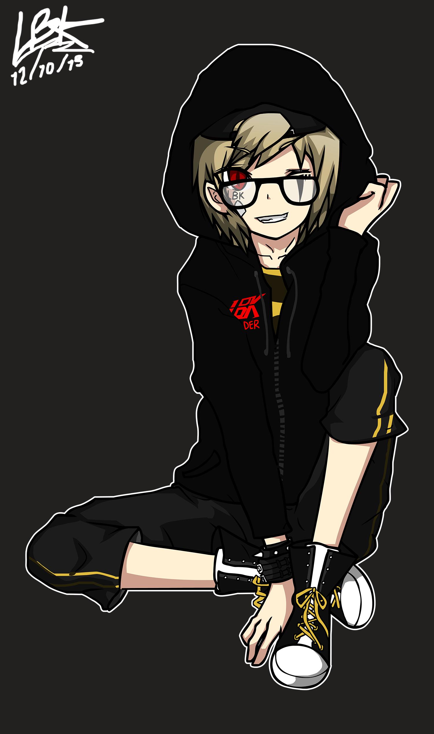 LBK Leader hoodie style
