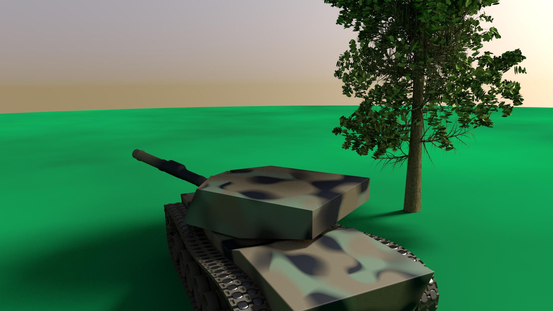 M1 Abrams Sketch
