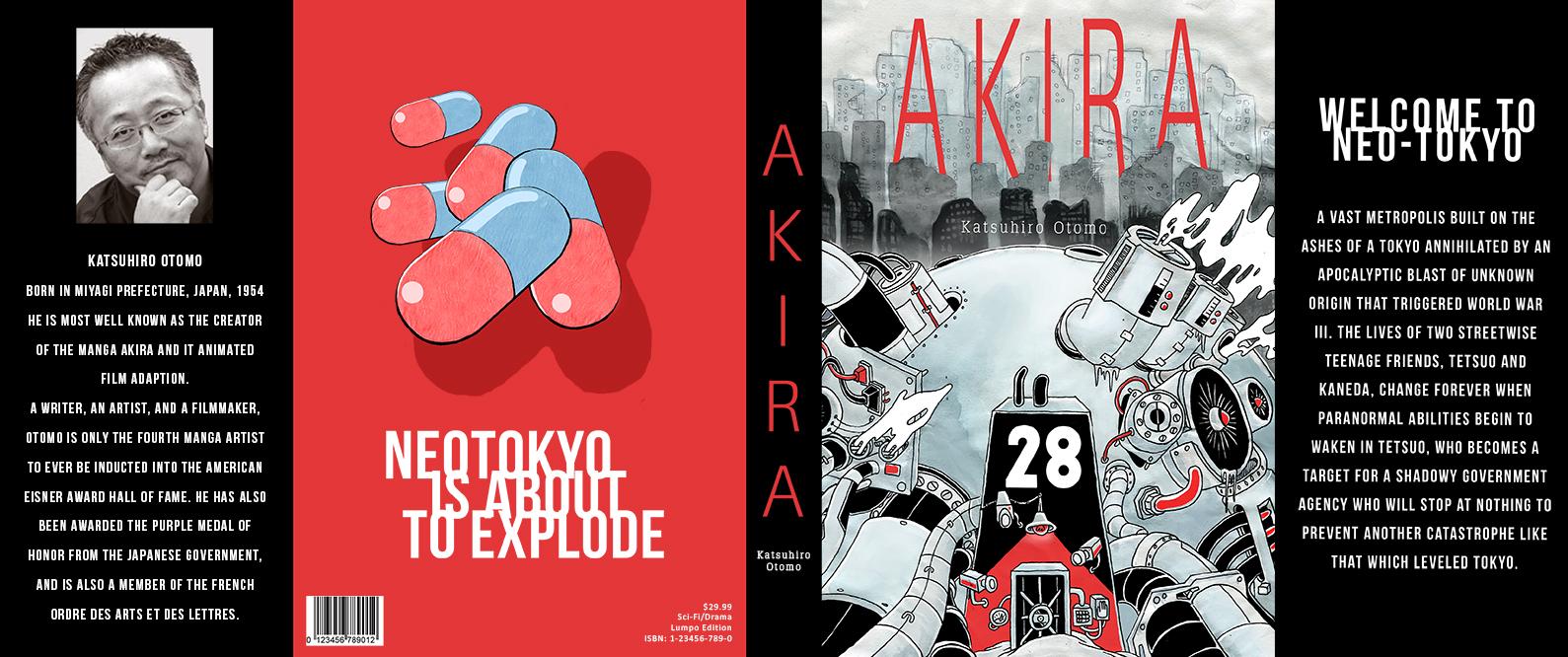 Akira Full Dust Jacket
