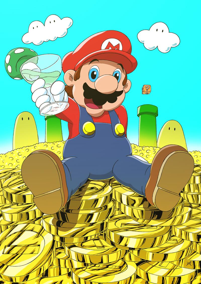 Super Mario Bros Fanart