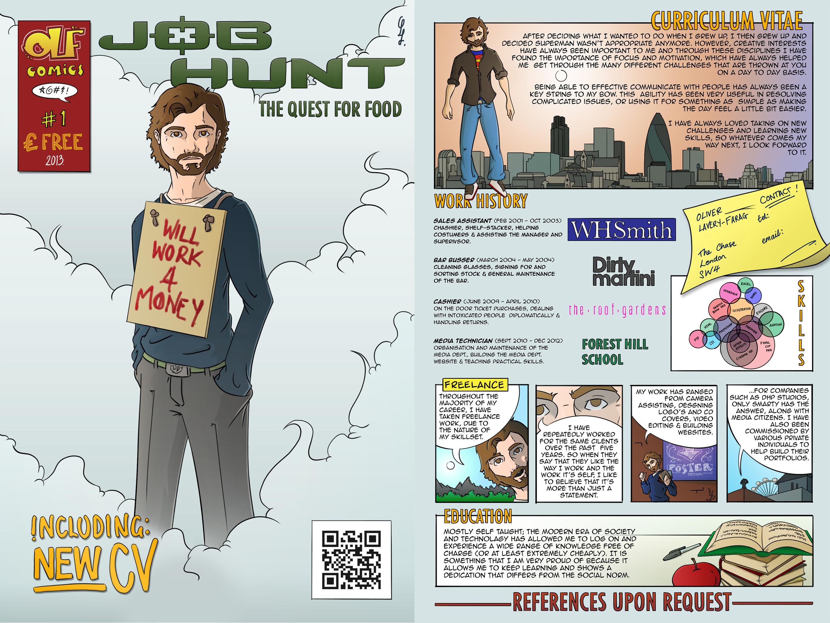 Comic CV