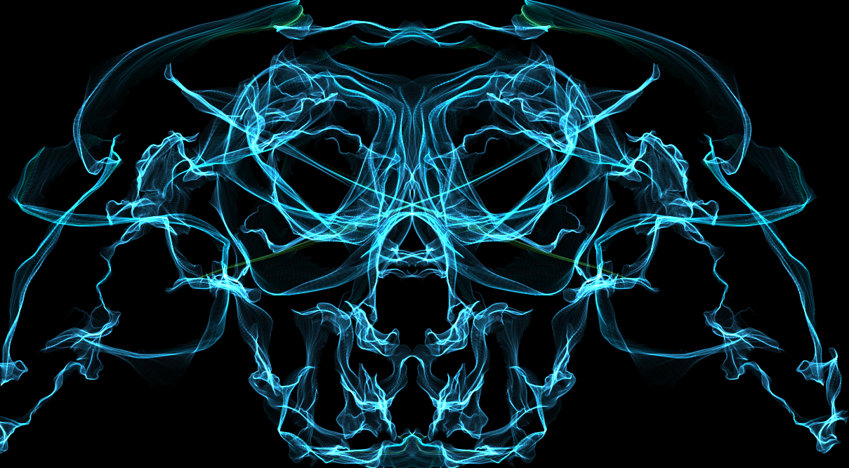 Wired Skull