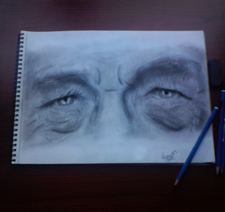 Ian McKellen (Eye Study)