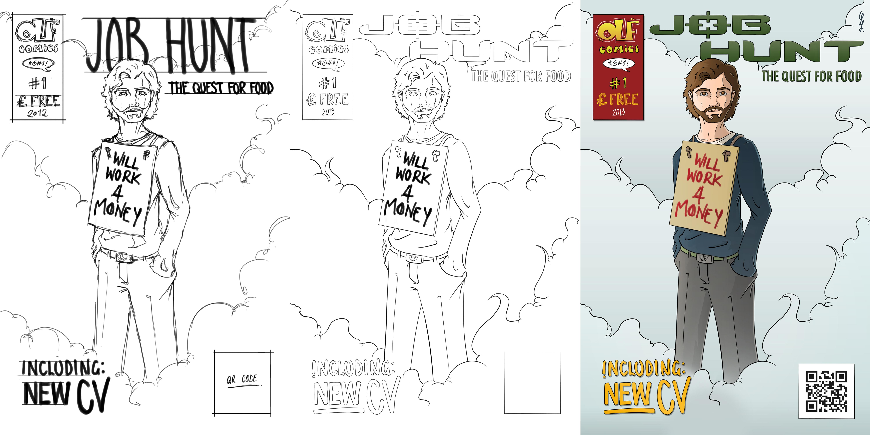 CV Cover (Sketch to Colour)