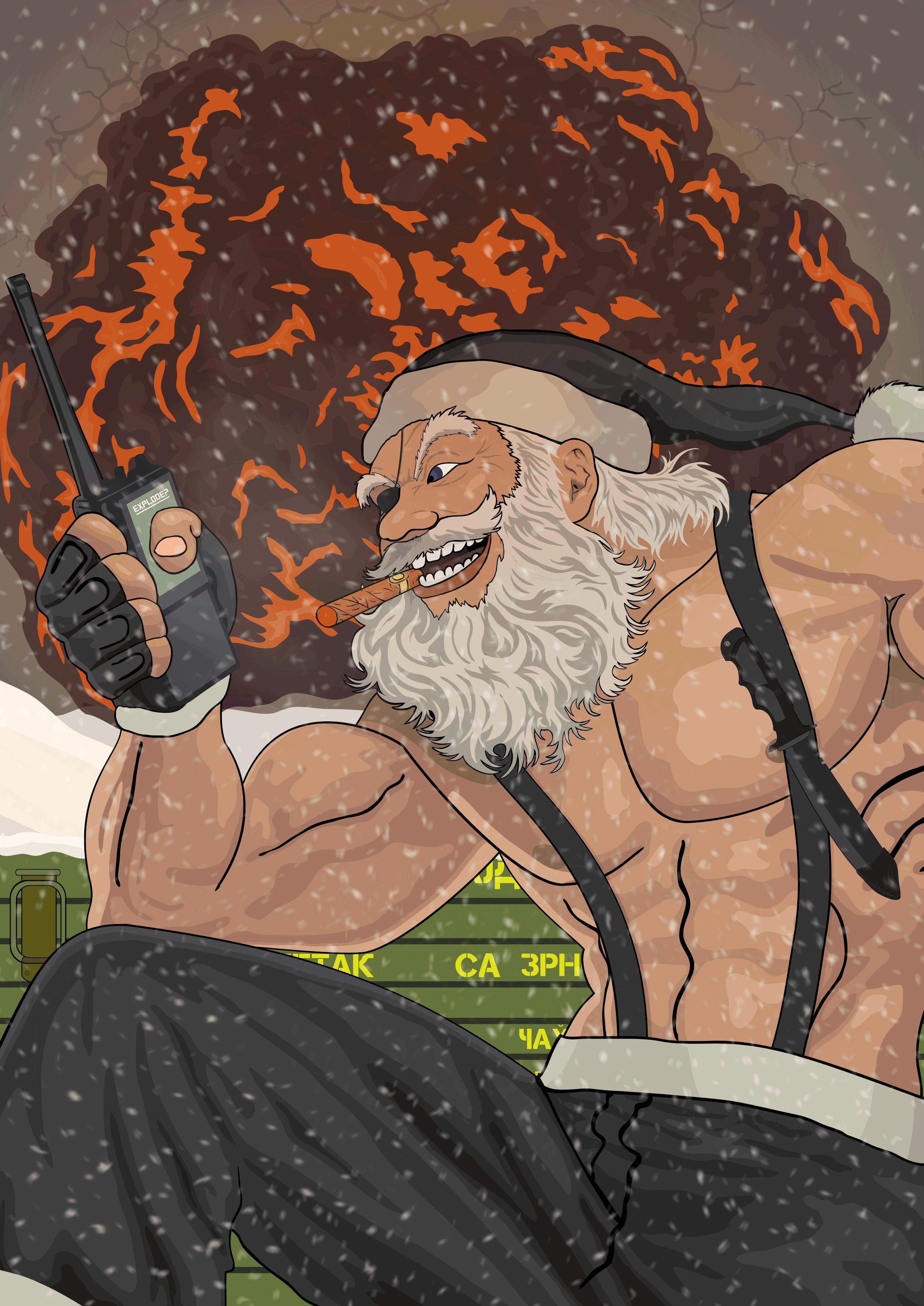 Solid Santa