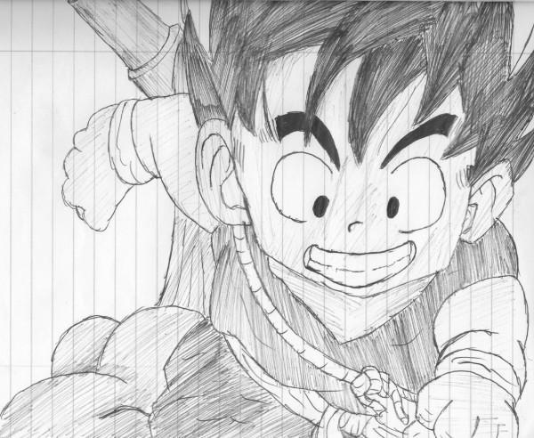Son Goku Drawing