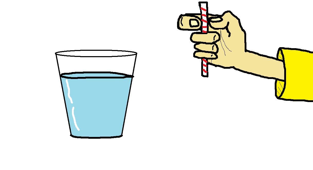 Need a straw?