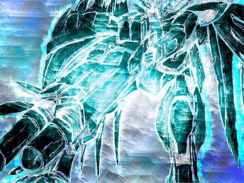 Gundam Wing Photoshop Edit