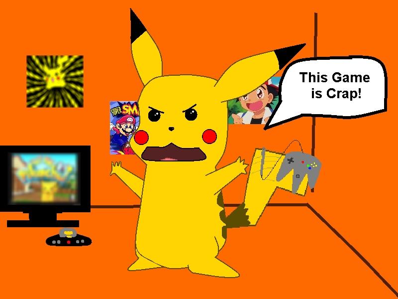 Hey you Pikachu!