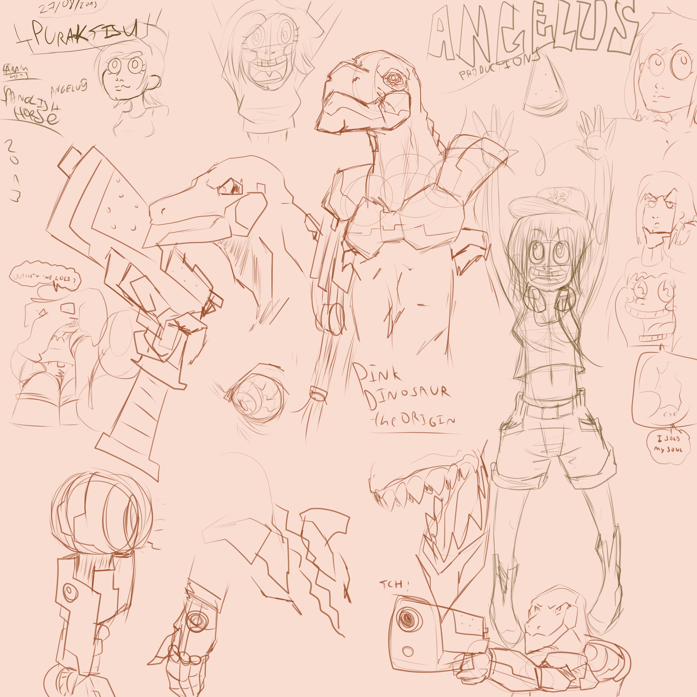 random sketch 27 08 2013