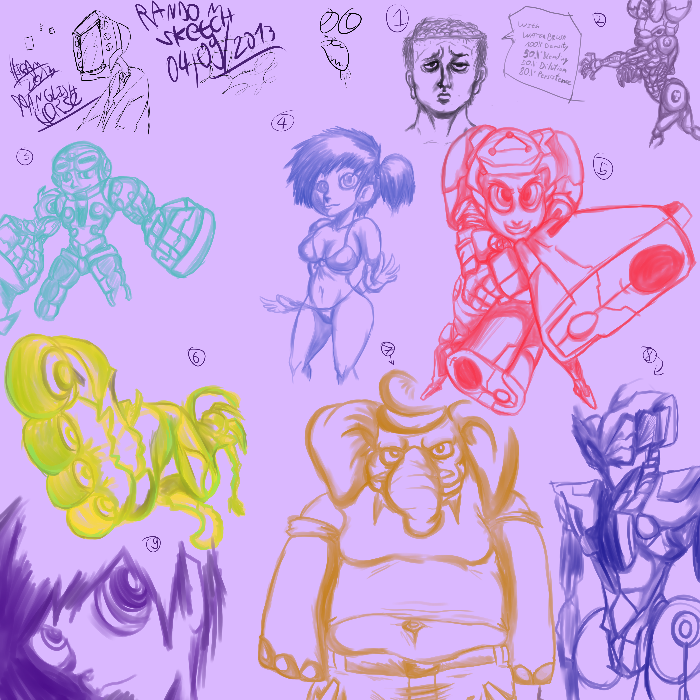 Random sketch 04 09 2013