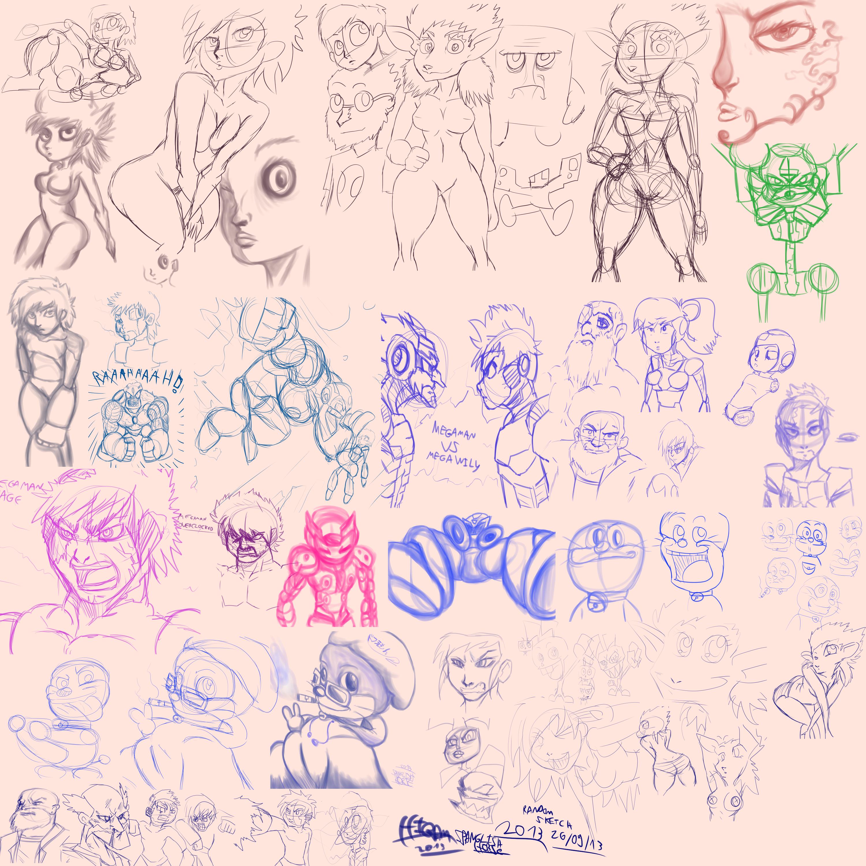 random sketch 26 09 2013