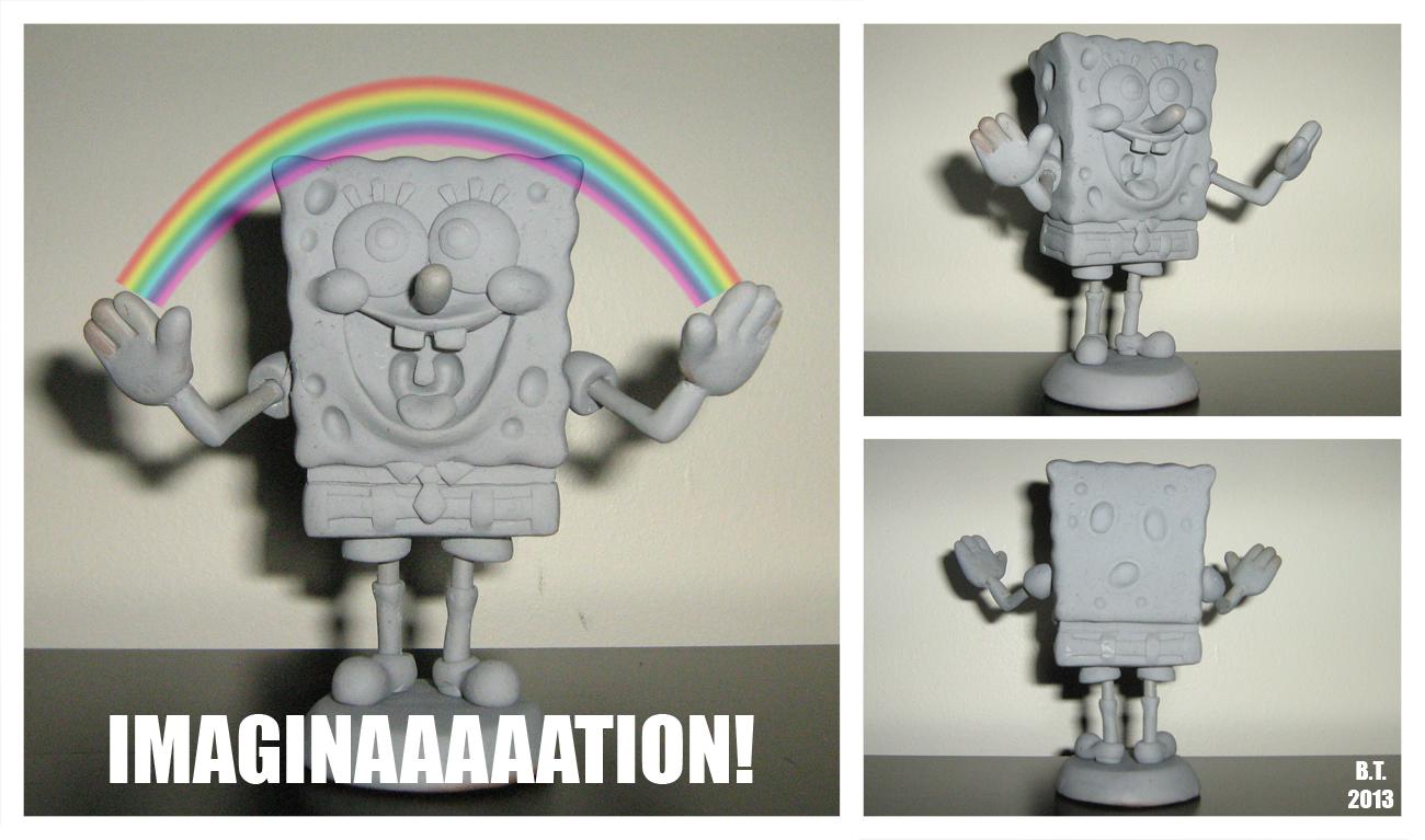 Spongebob Sculpture