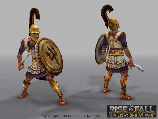3D game character: General
