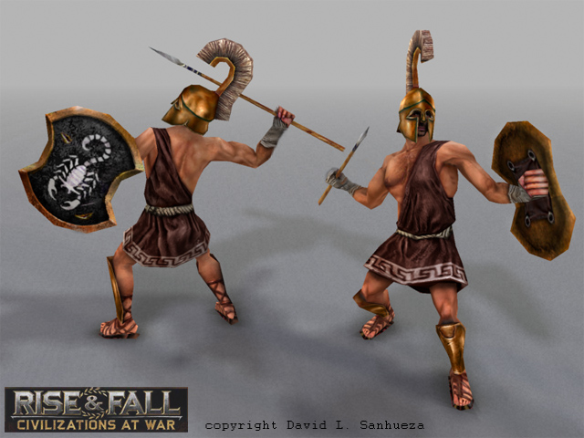 3D game character: Javelin