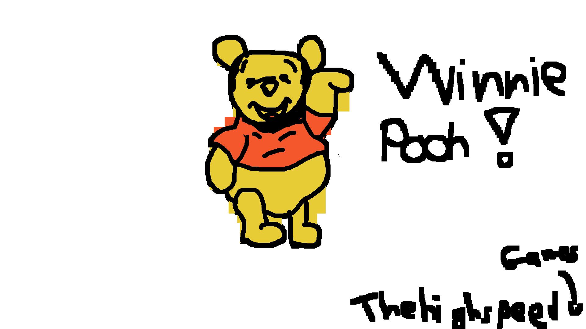 Winnie Pooh - Shitty Art #1