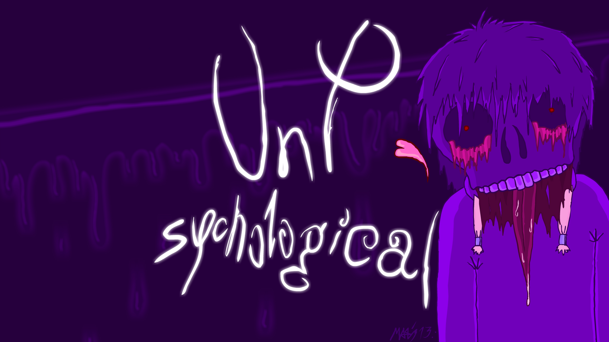 UnPsychological first art work
