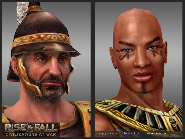 3D Game Characters: Portraits