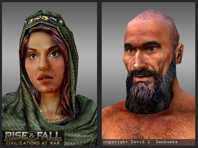 3D Game Characters: Portrait