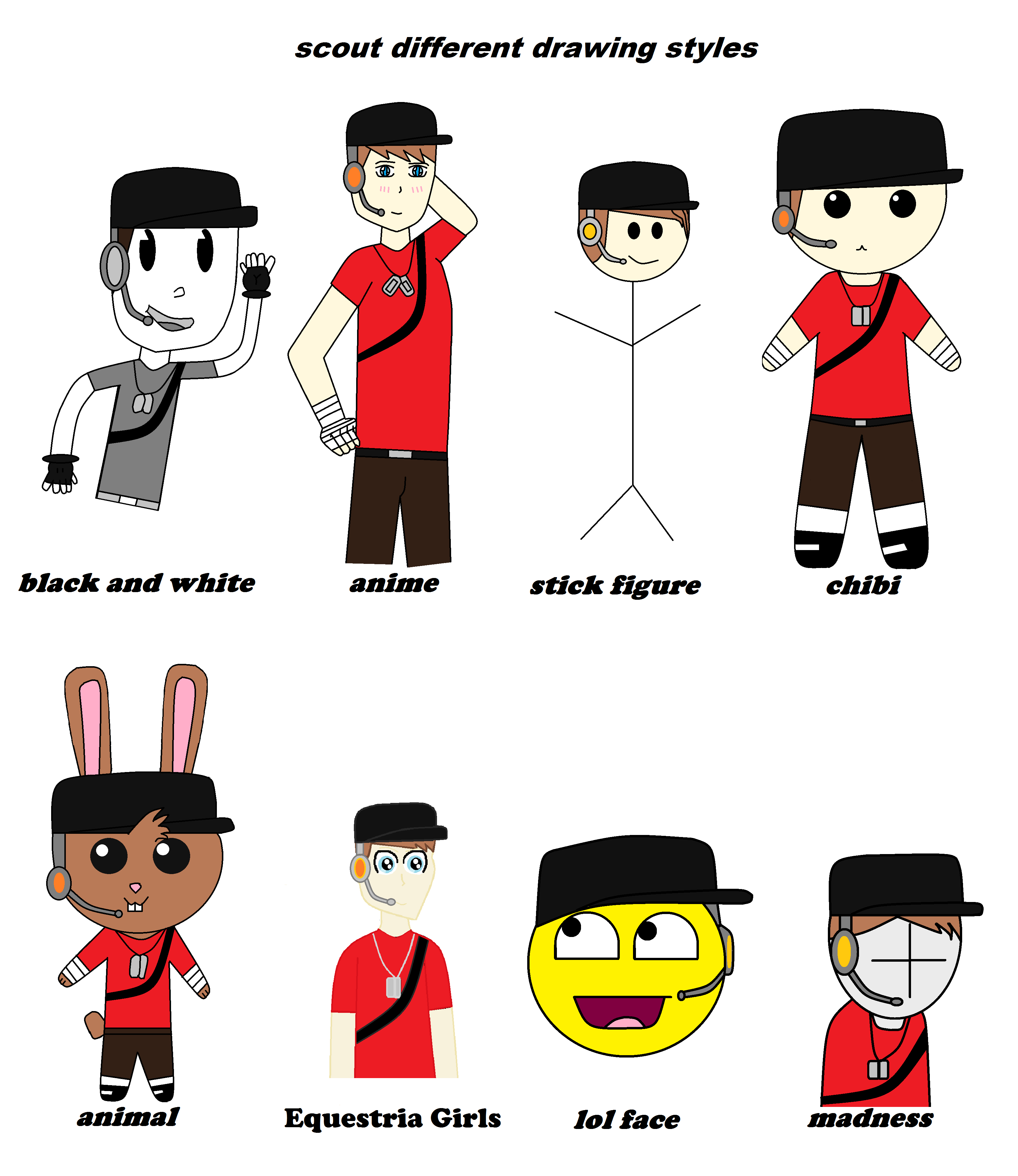 tf2 different drawing style