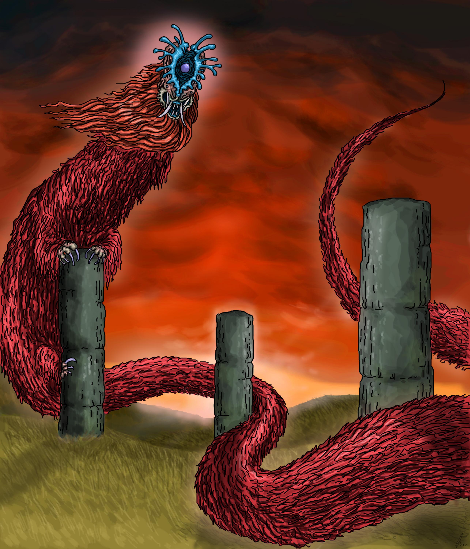 Three-Eyed Serpent