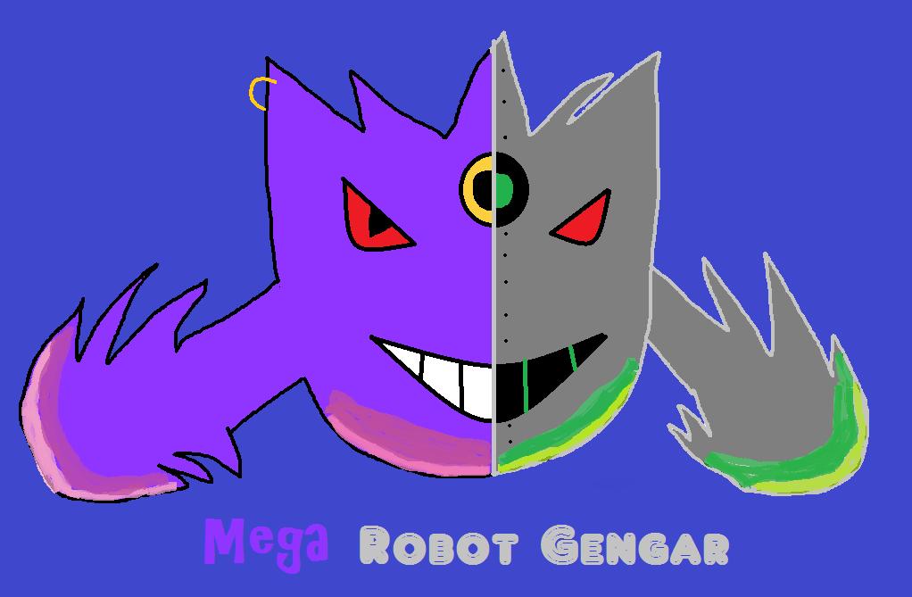 Mega Robot Gengar