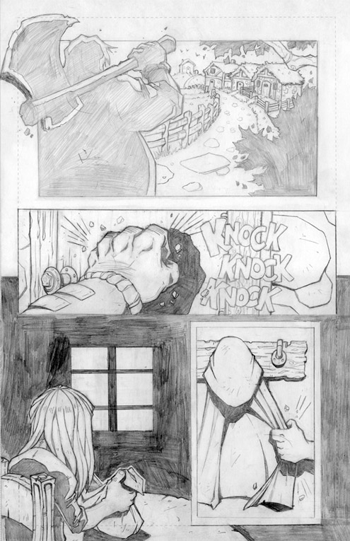 Ozellberg Kickstarter Comic