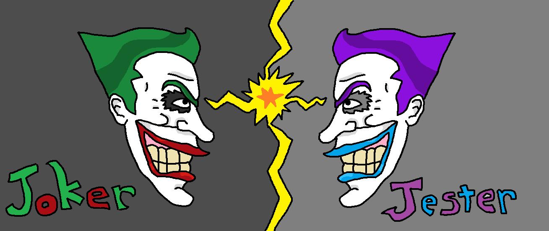 Joker v.s Jester