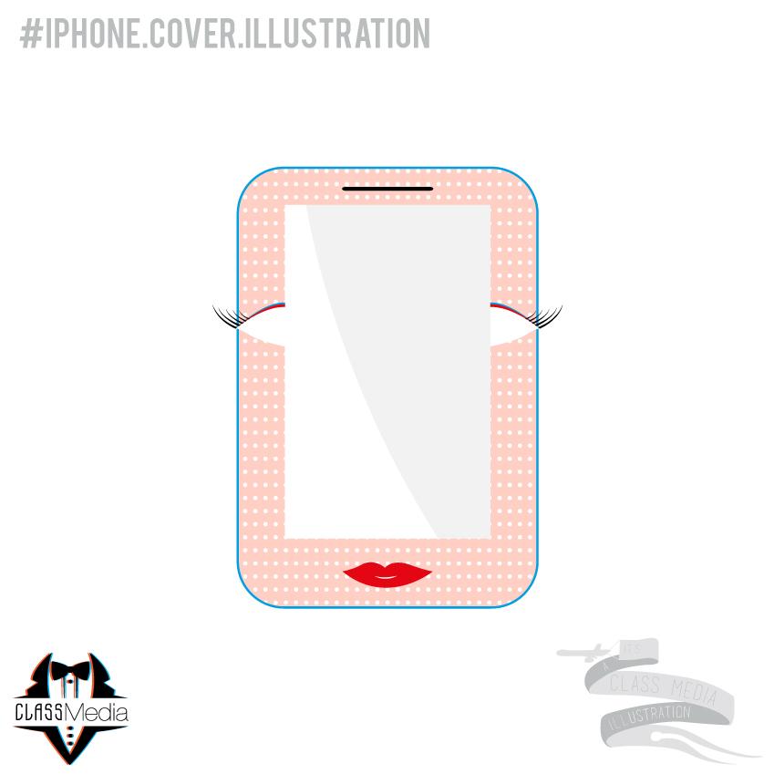 Iphone illustrations