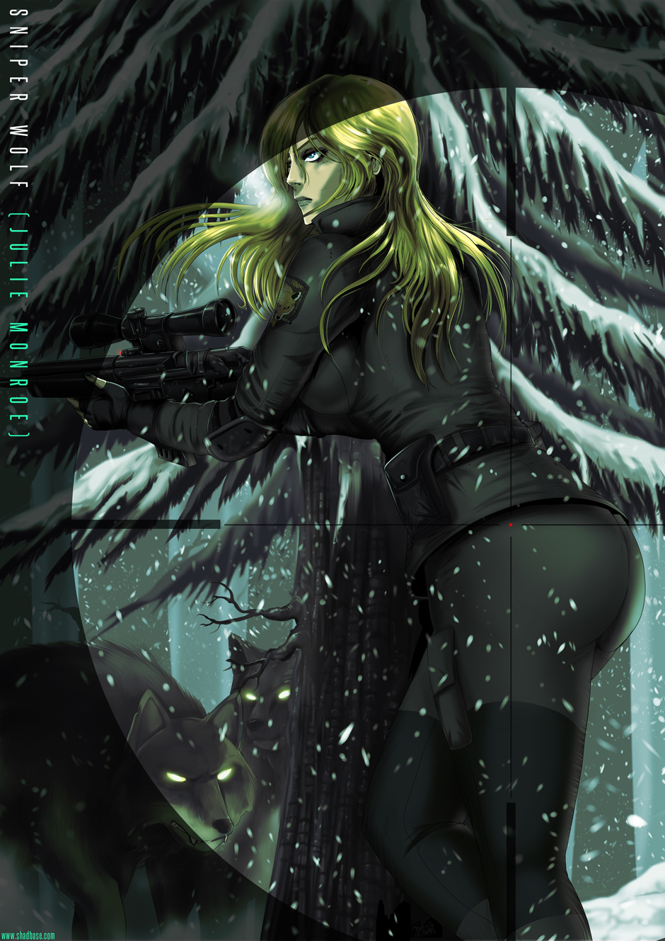 Girls of MetalGear Sniper Wolf