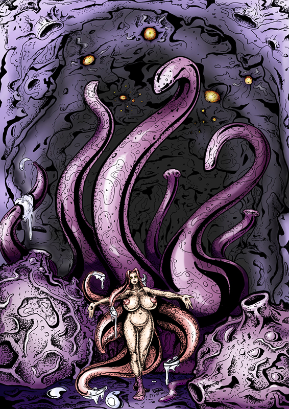 The lair of a Tentacle's Queen