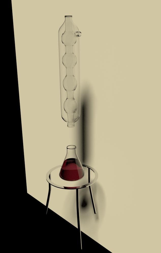 Chemist's laboratory