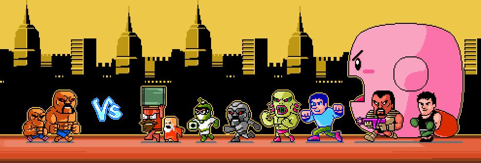 Abobo vs NES world