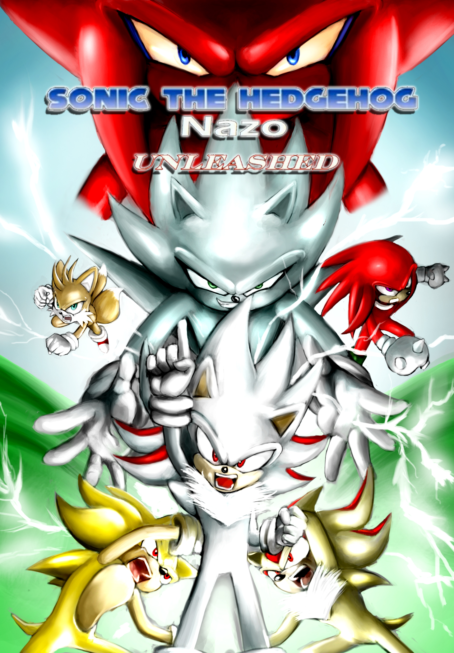 Nazo Unleashed Poster Remaster