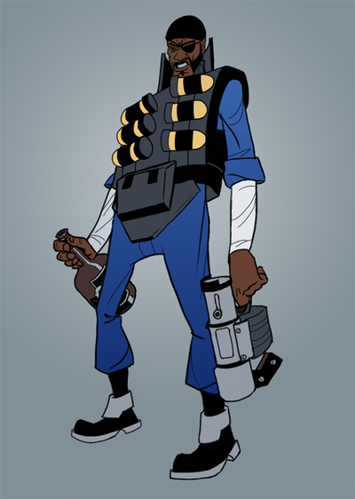 Black Scottish Cyclops