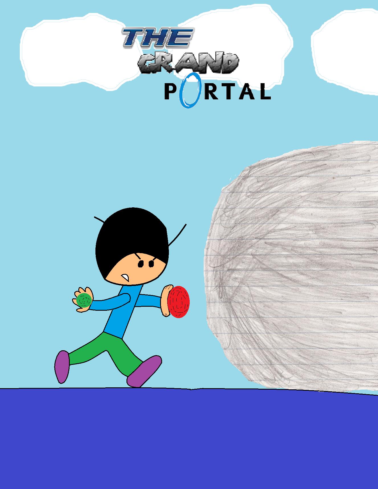 The Grand Portal. Movie Poster