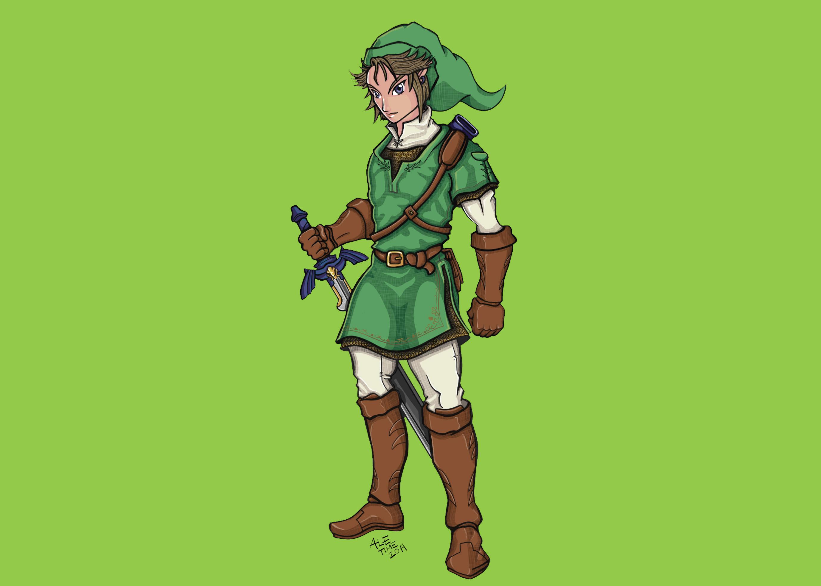 Link of the Legend of Zelda