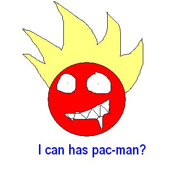 I can has pac-man