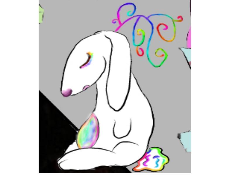 Space bunny named Phybu