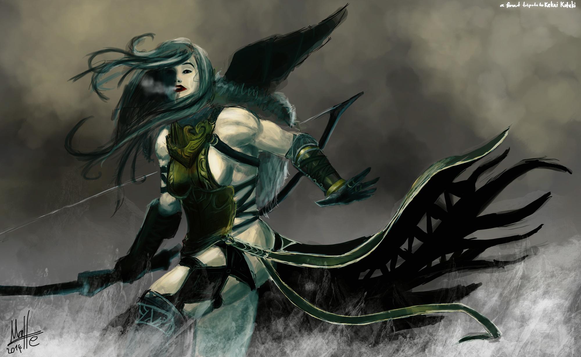 Norn Huntress (KK-fanart)