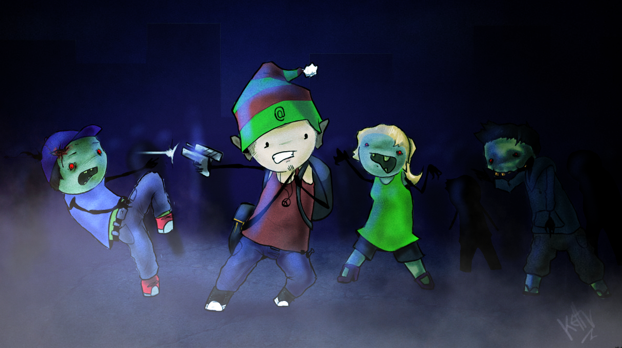Zombies and Gnome Hats