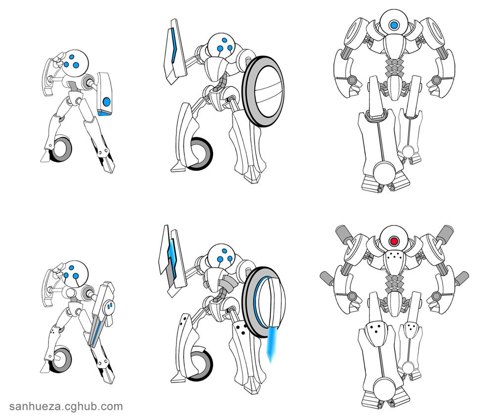 Concept Art: Droids